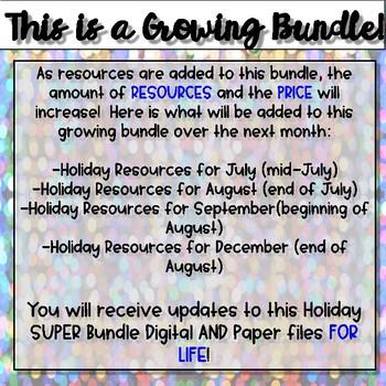 Holiday MEGA Bundle {Digital AND Paper}
