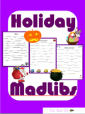 Holiday Mad Libs: No Prep