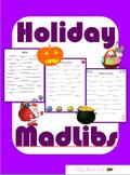 Holiday Mad Libs: No Prep