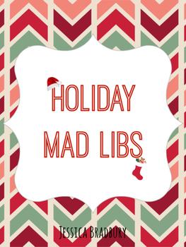 Holiday Mad Libs - Christmas