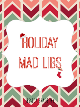 Holiday Mad Libs - Christmas