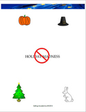 Holiday Madness - Halloween / Thanksgiving / Christmas / Easter (Common Core)
