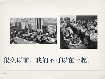 Holiday- Martin Luther King Jr. Chinese PPT