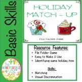 Holiday Match-Up File Folder Game