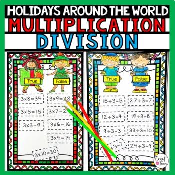 Holiday Math Division Fun