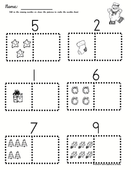 Holiday Math Activities Part 1