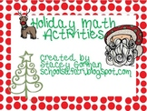 Holiday Math Activities by SchoolSafari