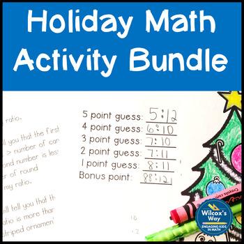Holiday Math Activity Bundle