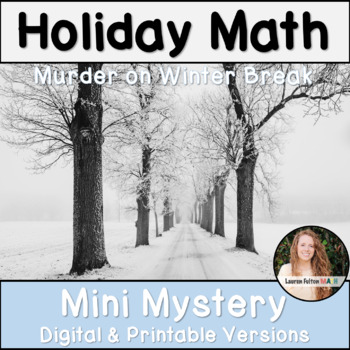 Holiday Math Activity! (Christmas Math Activity)