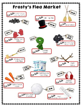 Holiday Math Activity: Word Problems with Decimals & the 4 Operations