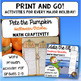 Math Craftivity BUNDLE: Halloween Craft- Multi-Step Word Problem Activities