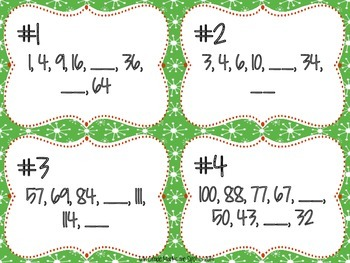 Holiday Math Brain Puzzles Oh What Fun! FREEBIE