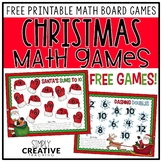 Free Christmas Math Games for Doubles and Making Ten