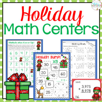 Holiday Math Centers