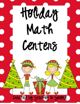 Holiday Math Centers (9 Centers!!)