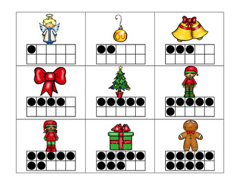Holiday Math Centers Pack