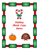 Holiday Math Cube Game Bundle
