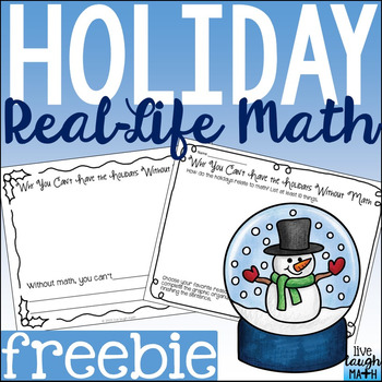 Holiday Math Freebie