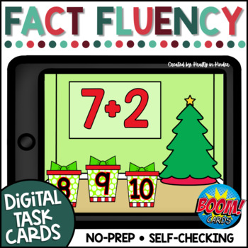 Holiday Math Games Boom Cards