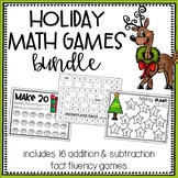 Holiday Math Games Bundle