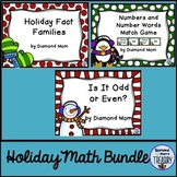 Holiday Math Games and Activities Bundle