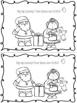 December Holiday Math Journal
