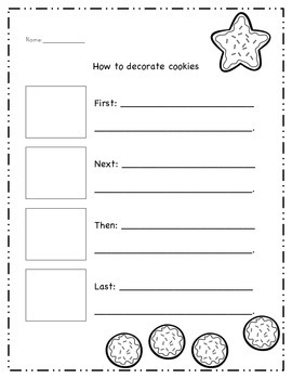 Holiday Math & Literacy Worksheets for First Grade