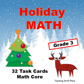 Holiday Math | Multi-digit Problems | Grade 3 Core Skills | Early Finishers