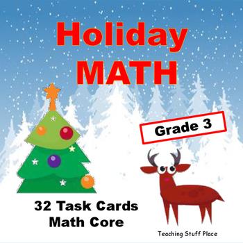 Holiday Math   Multi-digit Problems   Grade 3 Core Skills