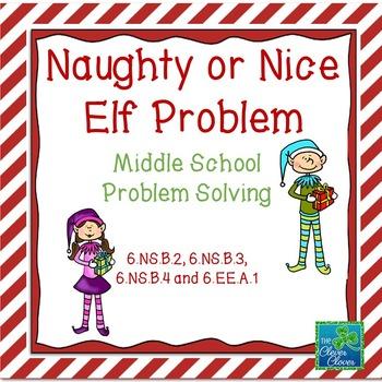 Holiday Math - Naughty or Nice Elf Problem