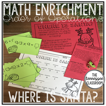 Christmas Math: Order of Operations