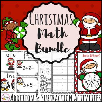 Christmas Math Activities- First Grade