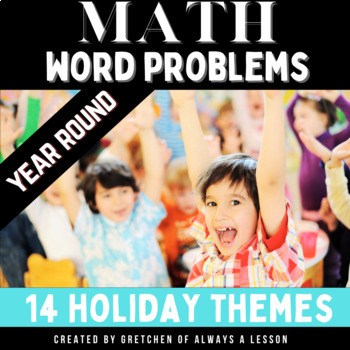 Holiday Math Problem Solving Pack
