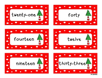 Holiday Math Pack (Number Words, Money, Time)