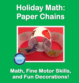 Holiday Math: Paper Chains