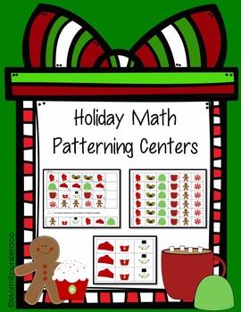 Christmas Math Patterning Activity