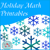 Holiday Math Printables