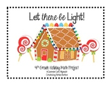 Holiday Math Project, Common Core Aligned