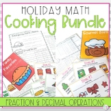 Holiday Math Projects | Fractions and Decimals Bundle