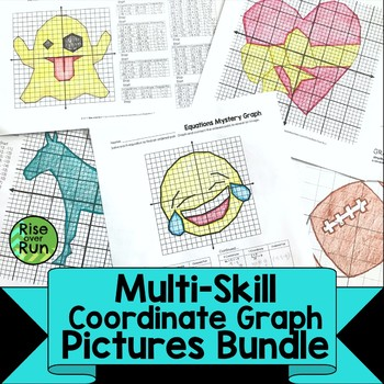 Coordinate Graph Pictures Bundle