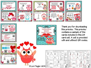 Holiday Math Task Cards Bundled Set