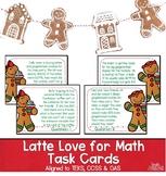 Holiday Math Task Cards | Christmas Math | Latte Love for Math | TEKS 6.5b