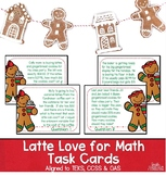 Holiday Math Task Cards | Christmas Math | Latte Love for