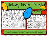 Christmas Holiday Math Time/4 Addition and Subtraction Coo