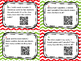 Holiday Math Word Problem Task Cards with QR Code Voice Recording