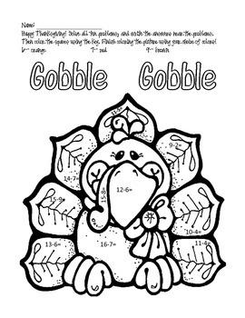 Holiday Math and Coloring Bundle