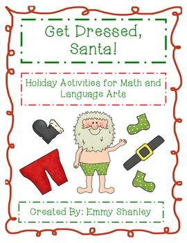 Holiday Math and ELA Activities