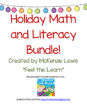 Holiday Math and Literacy Bundle