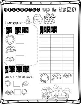 Holiday Math and Literacy Fun (Common Core Aligned)