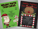 Holiday Math and Writing Centers BUNDLE